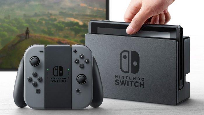 Konsol Terbaru Nintendo Adalah 'Nintendo Switch'