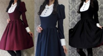 Gaun Yang Terinspirasi dari Fashion Anime Menjadi Sebuah Fashion Nyata