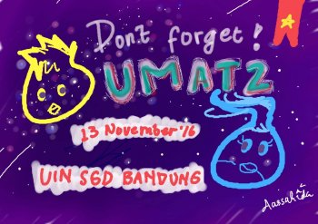 Dua Hari Lagi Menuju UIN Matsuri di Bandung!