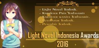 Akan Ada Light Novel Indonesia Awards di Akhir Tahun Ini!